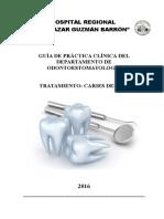 Guía de Práctica Clínica Para Caries Dental