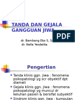 Tanda&Gejala Ggn Jiwa