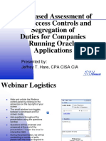 Risk Based Access Controls Webinar Dec09