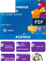 Globe Charge for Globe Stores June 2014