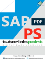 Sap Ps Tutorial 2017