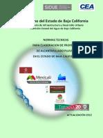 Normas Pluviales en El Estado 2013