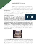 La Evolución de La Computadora