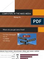 Computers in the Mass Media