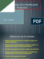 6.- Fundamentos de La Planeación Financiera