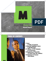 Metro Bank Final