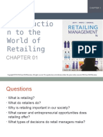 CHAPTER 1-INTRODUCTION TO THE WORLD OF RETAILING