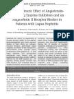 Efecto Antiproteinurico IECAS Y ARA en Lupus