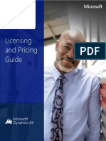 Microsoft Dynamics Ax 2012 r3 Licensing Guide
