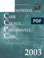 2003 International Performance Code