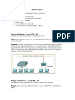 Network Devices Hubs, Switches, Routers