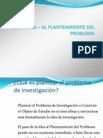 Idea de La Inv - Planteamiento Del Problema ( a)