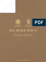 Burberry Annual Report 2015-16