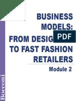 M2 Main Business Models