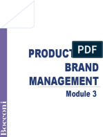 M3_Main_Product and Brand Management