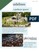 2015.11.25 Parkour Visions Parks Design Guidelines