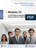 Mod6 La Gestion de Equipos y Resolucion de Conflictos