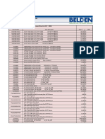 Belden - Fiber Cable & Connectivity Price List_Original_97974