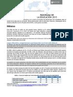 Panorama de la Educación Mexico  2015 OCDE.pdf