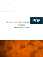 E Com Security Solutions - Six Best Practices for Security Testing in the SDLC