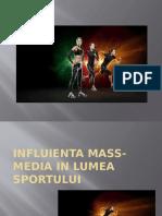 Influienta Mass-media in Lumea Sportului