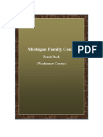 Michigan Family Court Benchbook (Washtenaw County)