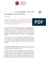 The Open Data Paradigm and the European Structural Funds