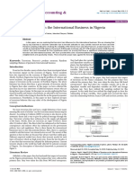 Effects of Terrorism on the International Business in Nigeria 2168 9601 1000174