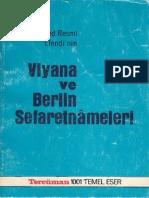 [Anı] Ahmed Resmî Efendi - Viyana ve Berlin Sefaretnâmeleri.pdf