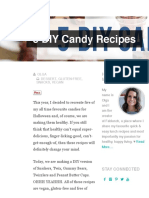 5 DIY Candy Recipes - Fablunch