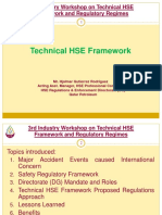 3. 3rd Industry Workshop - Technical HSE Framework