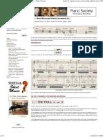 Bach - Music Manuscript Notation (Ornaments Etc.) - Piano Society