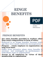 Fringebenefits Ppt for Students