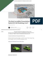 The Most Incredible Presentation of Hybrid 3D CAD Modeling, Ever!! _ Joe Brouwer _ Pulse _ LinkedIn