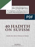 40 Hadith of Sufi Sulami Web