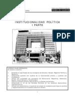 INSTITUCIONALIDAD POLITICA I