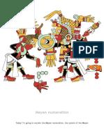 A Miguel Salinas Mayan Numeration