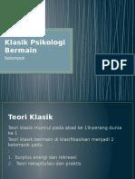 Teori-Teori Klasik Psikologi Bermain