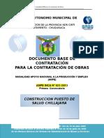 Dbc Const. Puesto de Salud Chillajara (Autoguardado)