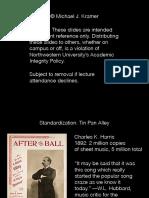 05 Standardization Tin Pan Alley
