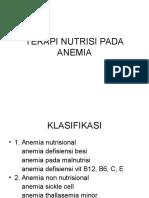 Terapi Nutrisi Pada Anemia