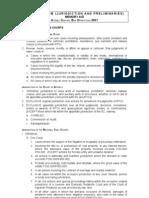 Jurisdiction and Preliminaries