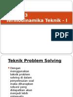 Termodinamika Teknik I