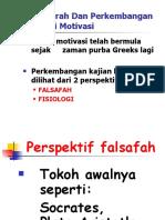 2.Teori-Teori Motivasi Dan Pendekatan Falsafah