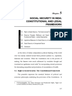 Social Security - Constitutional Frame Work