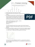 Assignment 1 - Problem Solving