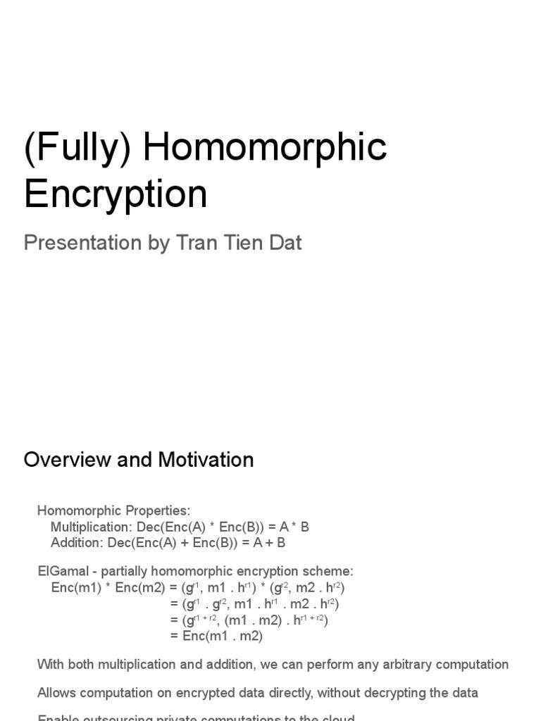 encryption presentation
