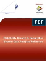 Reliability Growth and Repairable System Analysis Reference