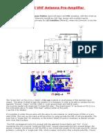 2 m -Pre Amplifier_ VHF