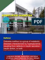 Komplikasi Diabetes 2015